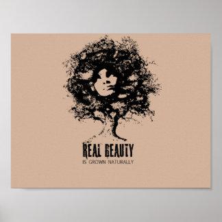 Beleza natural real poster