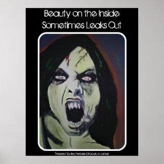 """""""Beleza poster da pintura no interior"""""""