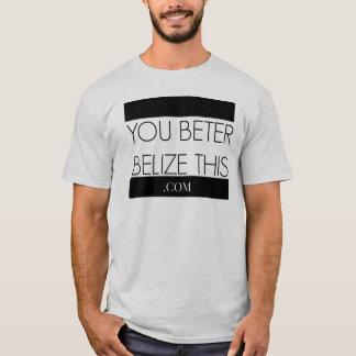#BelizeThis T-shirt