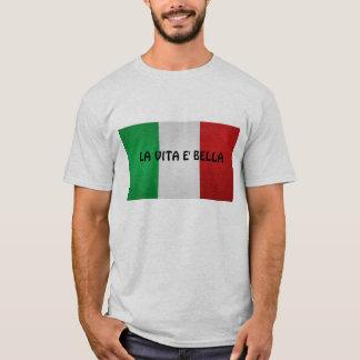 Bella do e do vita do La, camisa dos homens