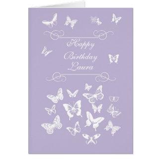 Bênção irlandesa do feliz aniversario das cartão