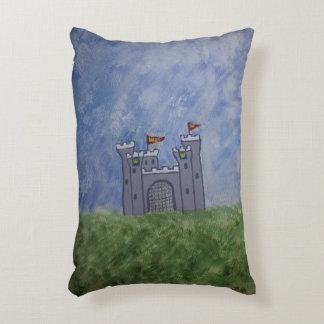 Berçário do castelo do conto de fadas almofada decorativa