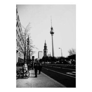 Berlim fotografia de rua - street photography poster