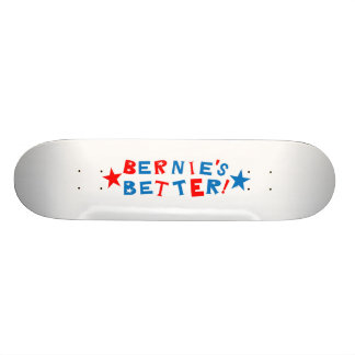 Bernies melhora o conselho shape de skate 19,7cm