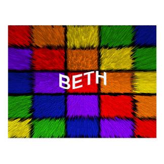 BETH CARTÃO POSTAL
