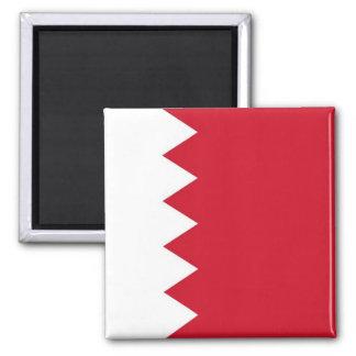 BH - Barém - bandeira Ímã Quadrado