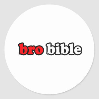 BÍBLIA DE BRO ADESIVOS EM FORMATO REDONDOS