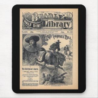 Biblioteca Vol XXII da moeda de dez centavos dos Mouse Pad