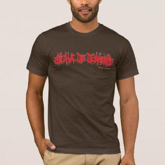 Bicha do demonio Vermelho Tshirt