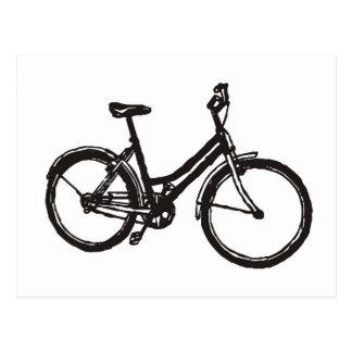 Bicicleta Cartão Postal