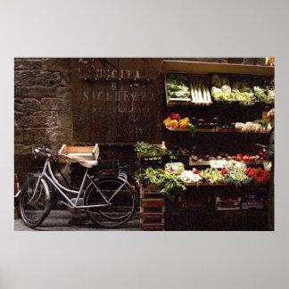Bicicleta de Florença por Vegies Posteres