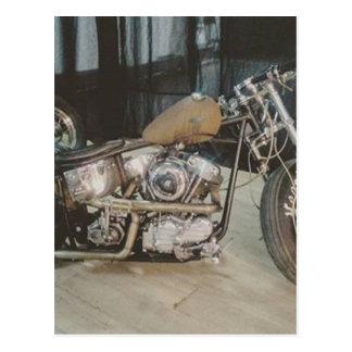 bicicleta do bobber cartão postal