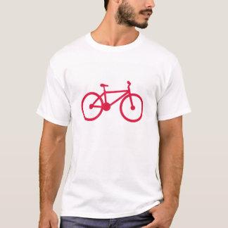 Bicicleta do vermelho carmesim t-shirts