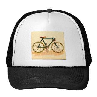 bicicleta do vintage boné