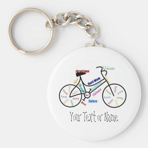 Bicicleta inspirador, bicicleta, ciclismo, esporte chaveiro