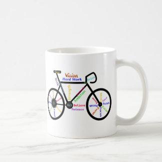 Bicicleta inspirador, ciclo, Biking, palavras do Caneca