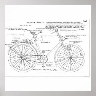 Bicicleta militar posters