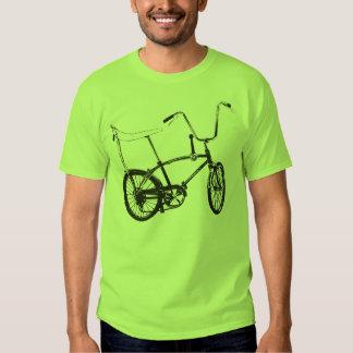 Bicicleta original da velha escola camisetas