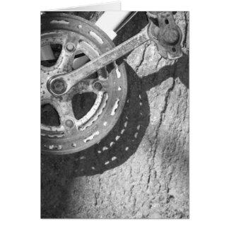 Bicicleta-Pedal Cartão Comemorativo