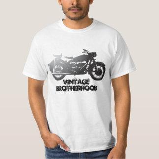 Bicicleta velha da fraternidade do vintage tshirts