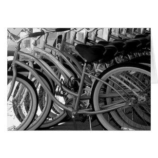 Bicicletas Cartão Comemorativo