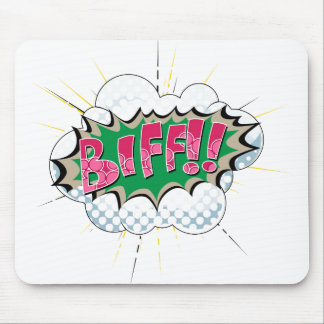 Biff cómico do pop art