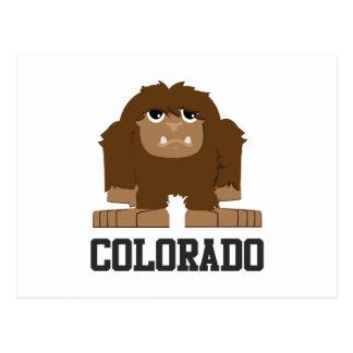 Bigfoot Colorado Cartão Postal
