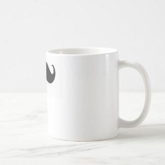 bigode caneca de café