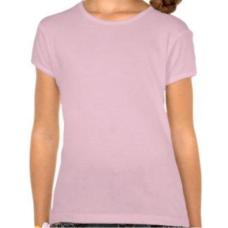 Bigode do brilho do arco-íris t-shirt