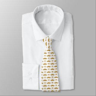 Bigode do ouro do pai #1 - número um gravata