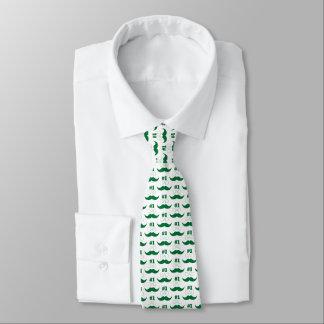 Bigode do verde do pai #1 - número um gravata