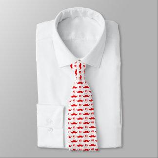 Bigode vermelho do pai #1 - número um gravata