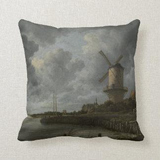 Bij holandês Duustede de Wijk do moinho de vento, Almofada