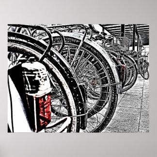 Bikes Pôster