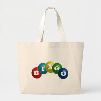Bingo ou loto - opção para personalizar sua engren sacola tote jumbo