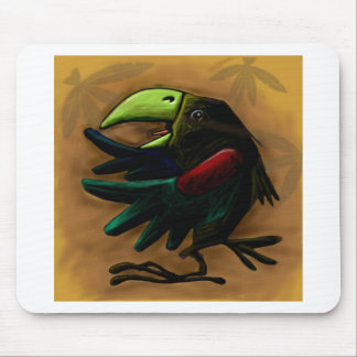 bird-9870-tropical-exotic-funny-parrot-macaw mouse pad