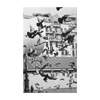 BIRD Dance Impressão Em Tela