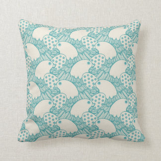 Bird Pattern Pillow