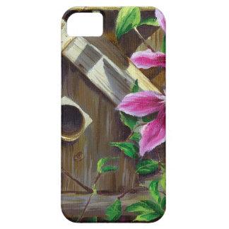 Birdhouse 0003 & Clematis Capa Para iPhone 5