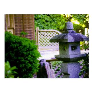 Birdhouse de pedra cartão postal