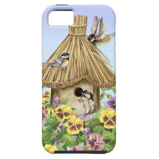 Birdhouse dos Chickadees Capa Tough Para iPhone 5