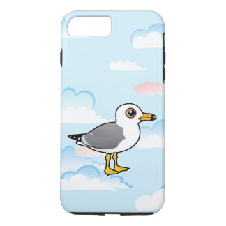 Birdorable Anel-faturou a gaivota Capa iPhone 8 Plus/7 Plus