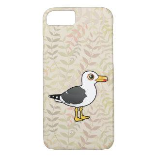 Birdorable pouca gaivota com o dorso negro capa iPhone 8/7