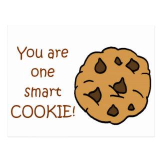 Biscoito esperto - citações engraçadas cartão postal