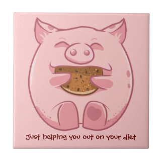 Biscoito leitão comer que ajuda no azulejo da diet