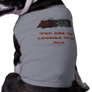 Biscoitos a meu leite camiseta