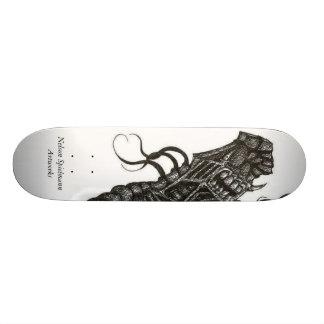 bitch22, trabalhos de arte de Nelson Spielmann Shape De Skate 18,4cm