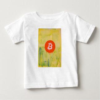 Bitcoin Camiseta Para Bebê