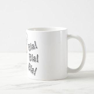 bla-bla-bla caneca de café