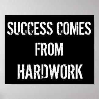 Black and White Motivational Poster